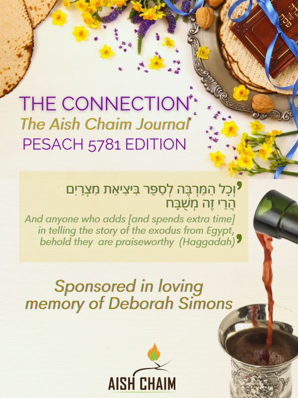 Passover Edition of The Connection